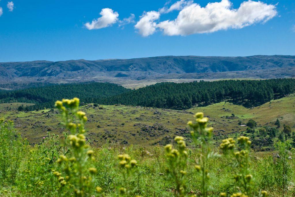 Posada Loma del Tigre camino a La Cumbrecita