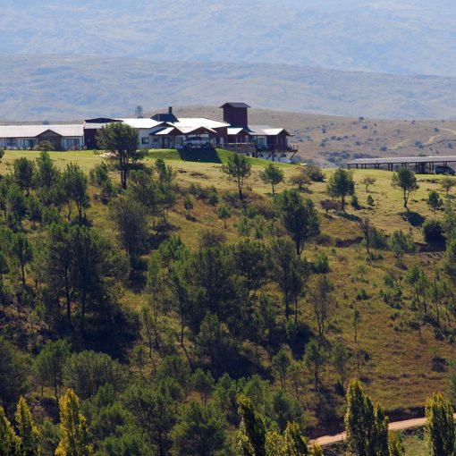 Vista de la Posada Loma del Tigre
