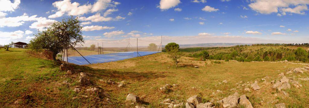 Cancha de tenis Posada Loma del Tigre